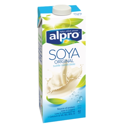 Alpro napój sojowy z wapniem naturalny 1 l