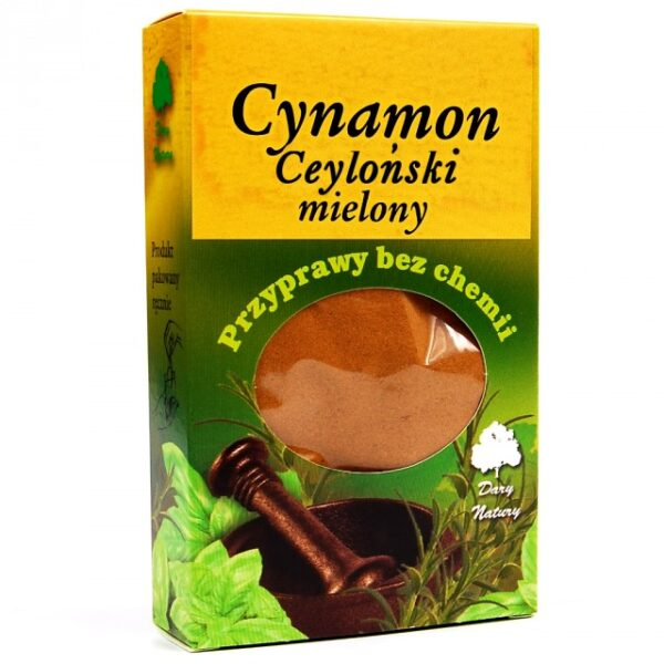 CYNAMON CEYLOŃSKI MIELONY 60G
