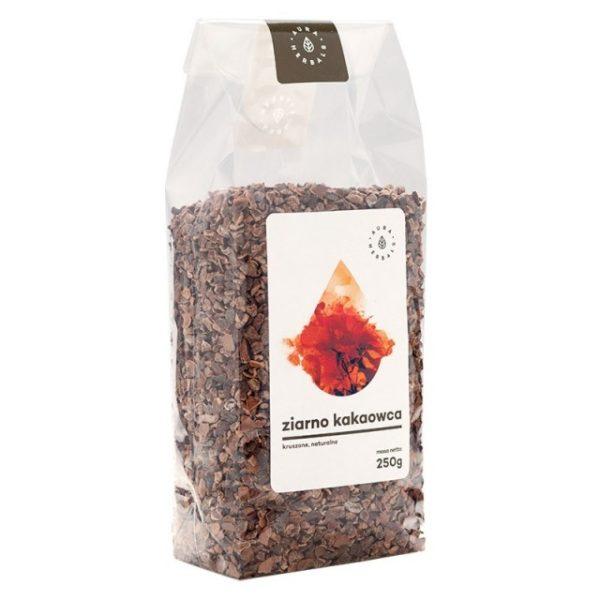 Ziarno kakaowca - kruszone (250g)