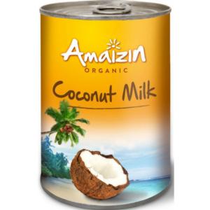 Mleko kokosowe (17% tłuszczu) BIO 400ml