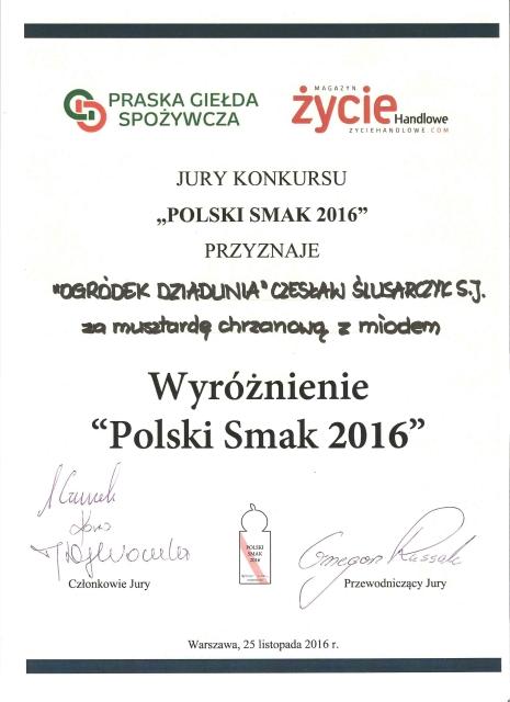 MUSZTARDA CHRZANOWO-MIODOWA 210G
