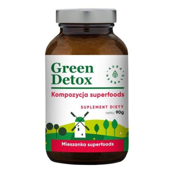 Green Detox - kompozycja superfoods w proszku 90g