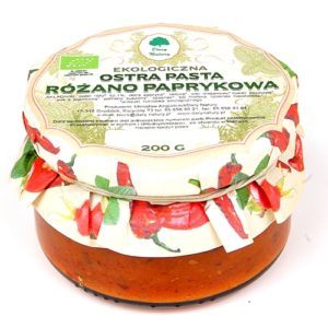 Ostra pasta różano-paprykowa 200g EKO
