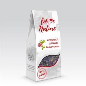 Herbatka Lipowo-Malinowa 50g