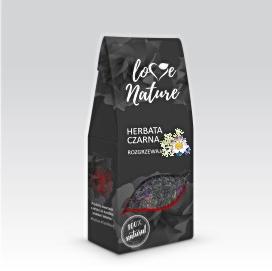 Herbata czarna ROZGRZEWAJĄCA z kwiatami 80g