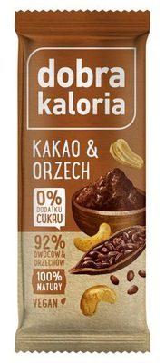 Baton owocowy Kakao i Orzech 35g