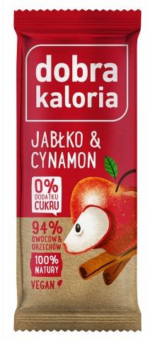 Baton owocowy jabłko i cynamon 35g