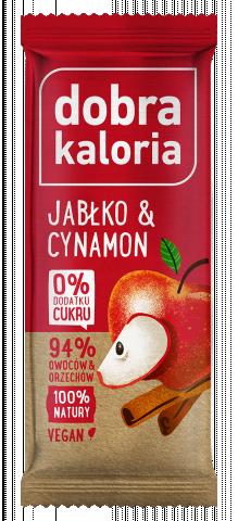 Baton owocowy Jabłko i Cynamon