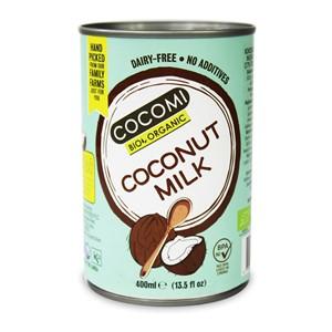Mleko kokosowe w puszce light (9% tłuszczu) BIO 400 ml