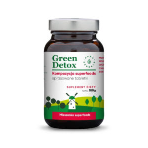 Green Detox 100 tabletek AURA HERBALS
