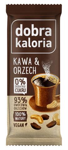 Baton owocowy Kawa i Orzech