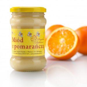 Miód kremowany z pomarańczą