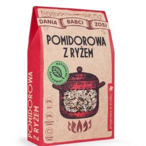 Zupa pomidorowa z ryżem 95g