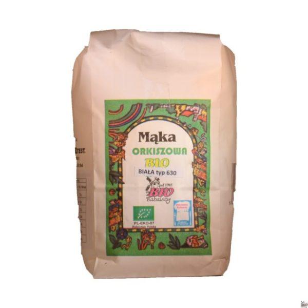 Mąka orkiszowa biała typ 630 1 kg BIO