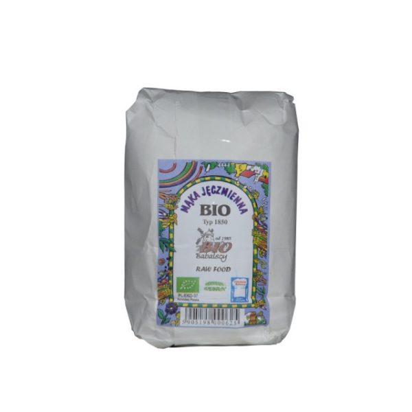 Mąka razowa jęczmienna BIO Typ 1850 0,5 kg