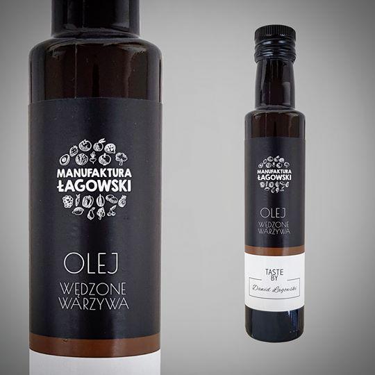 Olej wędzone warzywa 250 ml Manufaktura Łagowski
