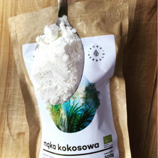 Ciasto kokosowe z borówkami