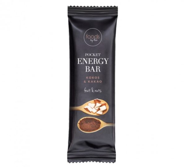 POCKET ENERGY BAR KOKOS & KAKAO 35G
