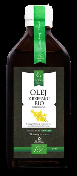 Olej Rzepakowy BIO 500ml