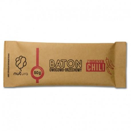 Baton owocowo-orzechowy z dodatkiem chili 50 G