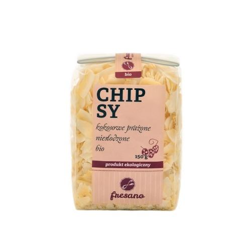 Chipsy kokosowe prażone niesłodzone BIO 150g