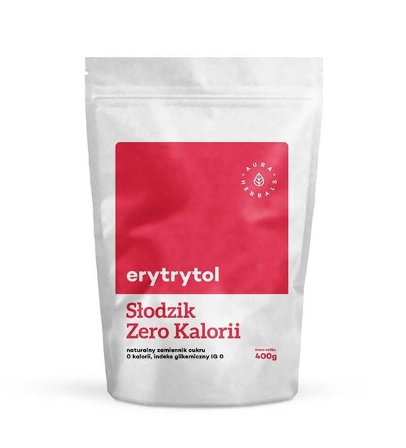 Erytrytol - naturalny słodzik, zero kalorii 400 G