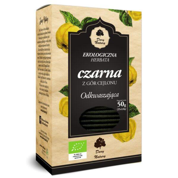 Herbata czarna odkwaszająca EKO (25x2g) ekspresowa
