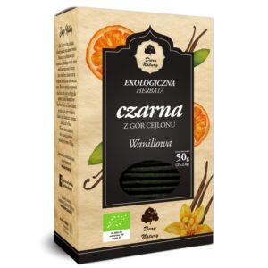 Herbata Czarna Waniliowa EKO (25x2g) ekspresowa