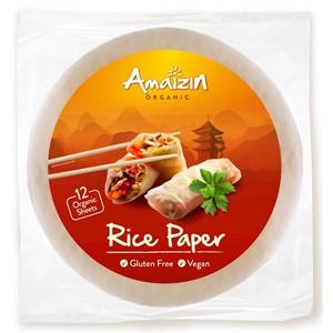 Papier ryżowy bezglutenowy BIO 110g