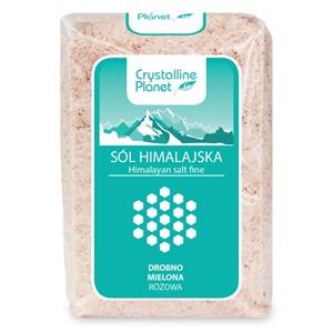 Sól Himalajska różowa drobno mielona 600g