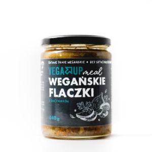 Wegańskie flaczki z boczniaków - Gotowe danie wegańskie 440 G
