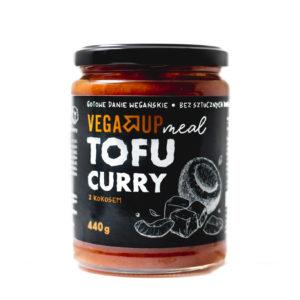 Tofu Curry z kokosem - Gotowe danie wegańskie 440 G