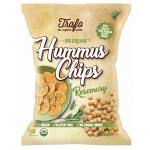 Chipsy z ciecierzycy z rozmarynem bezglutenowe BIO 75g