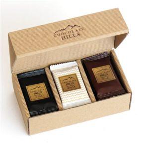 Czekoladki Chocolate Hills (biała,mleczna,deserowa)