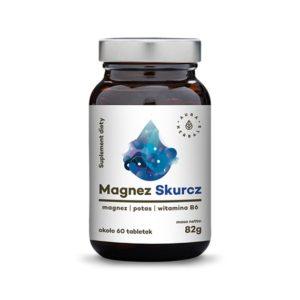 Magnez Skurcz + potas + witamina B6 - tabletki (82g)