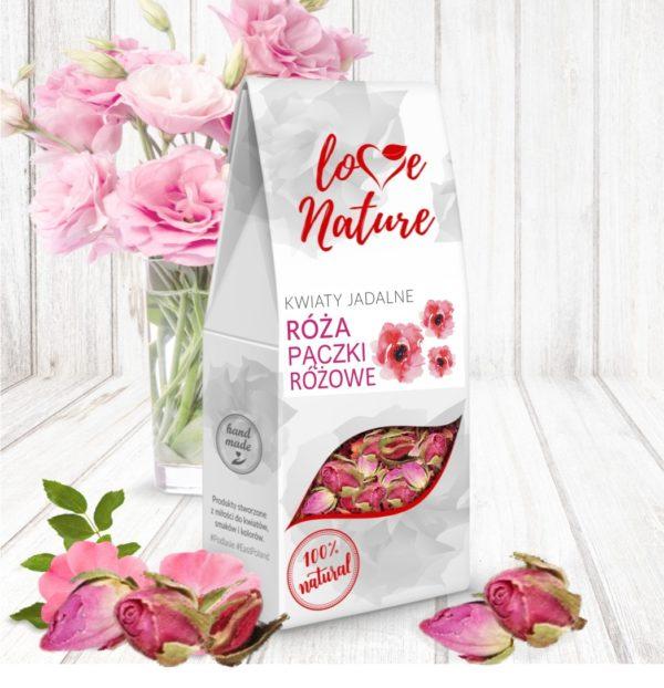 Róża pączki - Kwiaty jadalne 20G