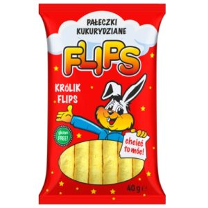 Pałeczki kukurydziane Flips 40g