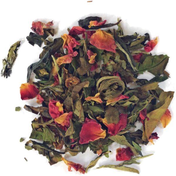 White Rose. Herbata biała z płatkami róży 50G