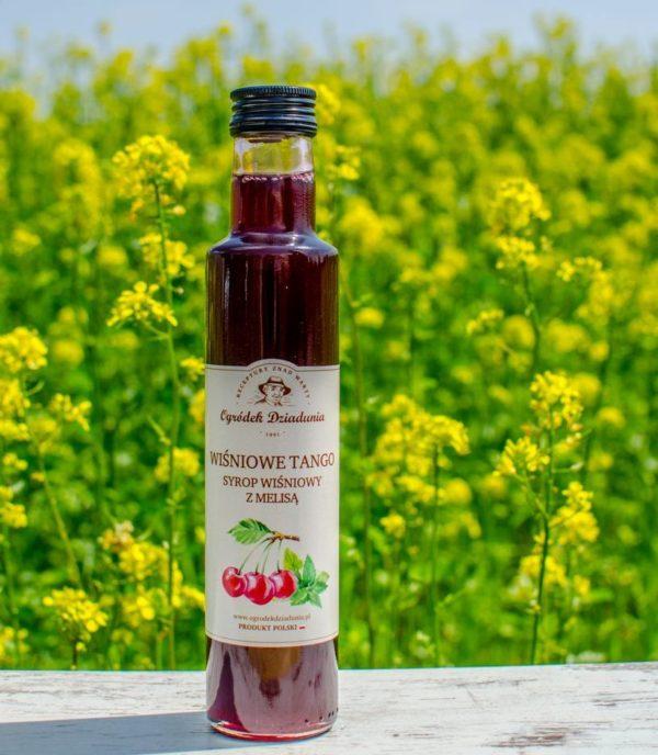 Syrop wiśniowy z melisą 315g