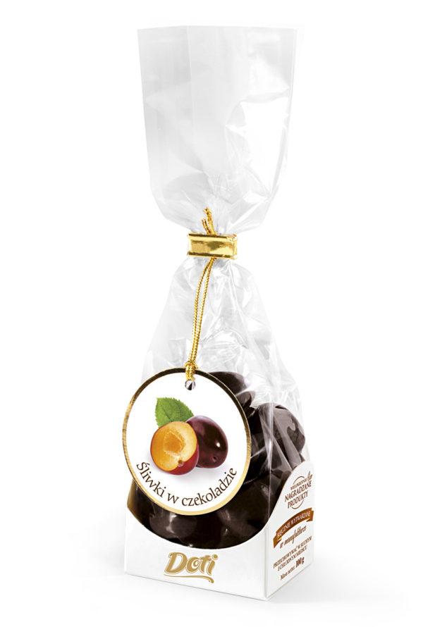Śliwki węgierki w czekoladzie 100g