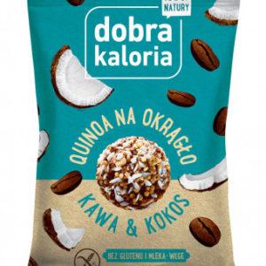 Quinoa na okrągło - kawa i kokos