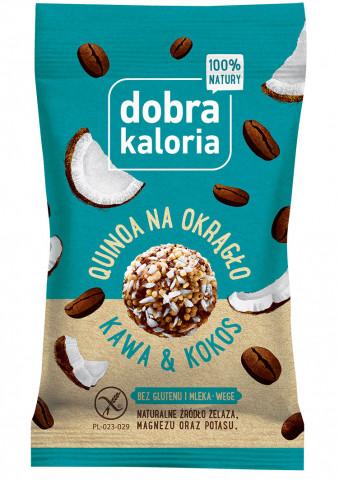 Quinoa na okrągło - kawa&kokos