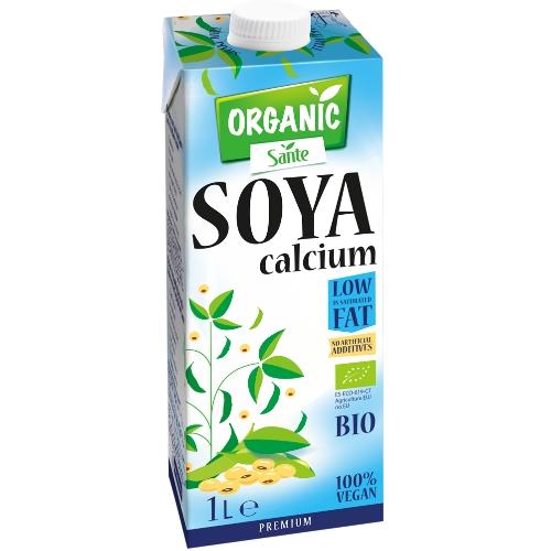 Organic Sante napój sojowy z wapniem 1L