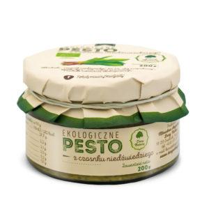 Pesto z Czosnku Niedźwiedziego EKO 200g - Dary Natury