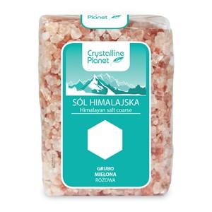 Sól Himalajska różowa grubo mielona 600g