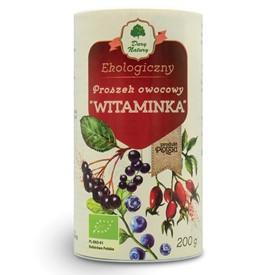 """Proszek owocowy """"Witaminka"""" eko 200g"""