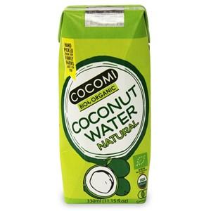 Woda kokosowa naturalna BIO 330ml - COCOMI