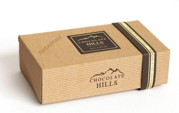 Czekoladki Chocolate Hills czekoladki deserowe z ekstraktem z liści morwy białej, bez cukru