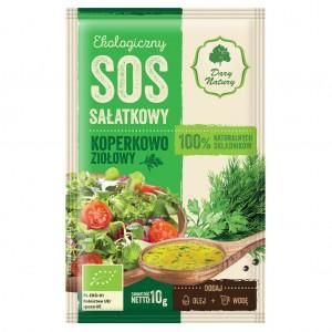 Ekologiczny sos sałatkowy koperkowo-ziołowy 10g