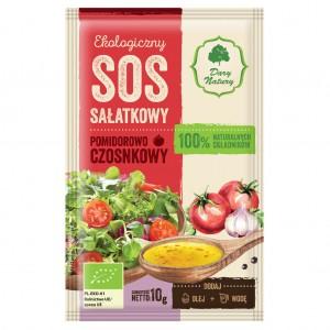 Ekologiczny sos sałatkowy pomidorowo-czosnkowy 10g